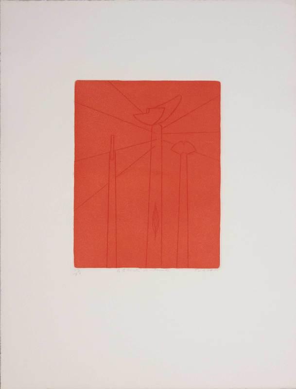 Giulio TURCATO - Druckgrafik-Multiple - La libertà incatenata