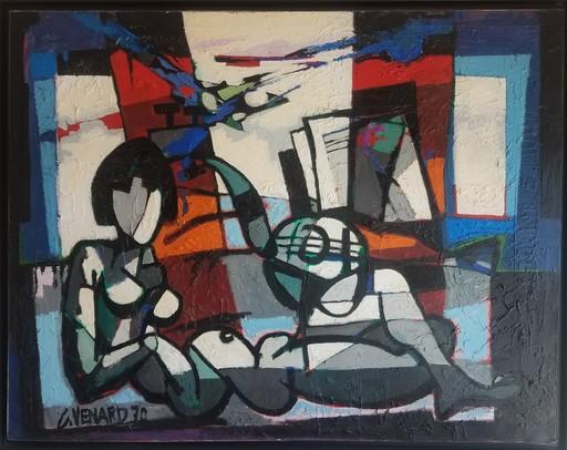 Claude VENARD - Painting