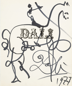 Salvador DALI, Don Quichotte