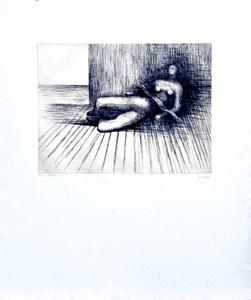 亨利•摩尔 - 版画 - Reclining Figure