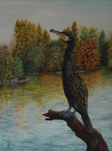 Evamaria KARPFEN - Painting - Herbstgold