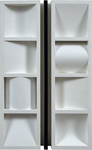 Jerzy GROCHOCKI - Skulptur Volumen - ...A Line Like Life Has Its Beginning and End...