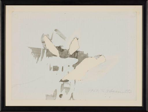 Shozo SHIMAMOTO - Pittura - Ana Esquisse (Hole Esquisse)