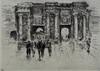 Ernst OPPLER - 版画 - Porte de Douai