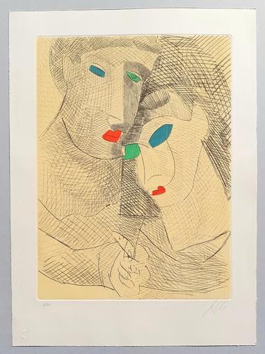 Sandro CHIA - Print-Multiple - Improvvisazioni su Leonardo (D)