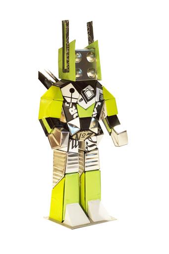 Hervé STADELMANN - Sculpture-Volume - Mid Robotyp ORLA 2018