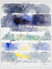 Paul KALLOS - Drawing-Watercolor - Sans titre (PK07)
