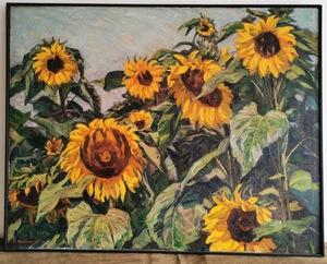 Karl HENNEMANN - Peinture - Sonnenblumen