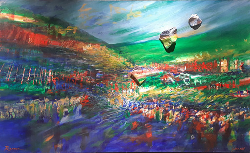 Yoram RAANAN - Pittura - Landscape