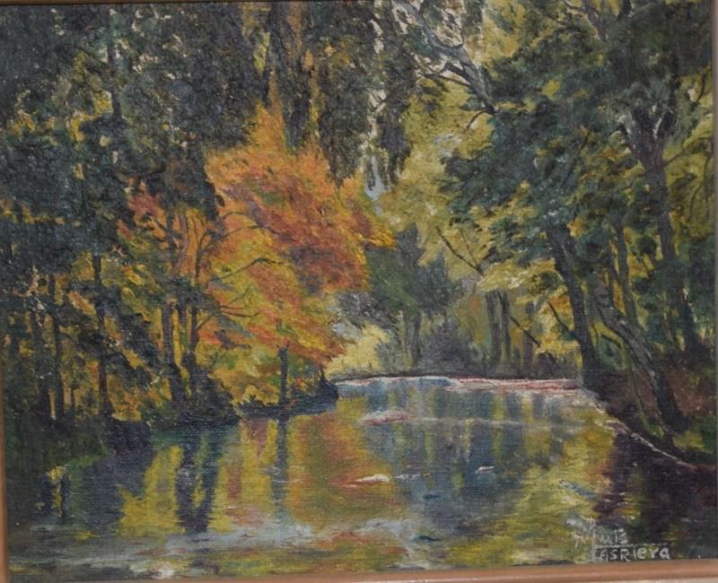 Lluis MASRIERA - Painting - Landscape