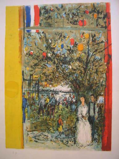 Jean COMMERE - Print-Multiple - Le mariage,1975.