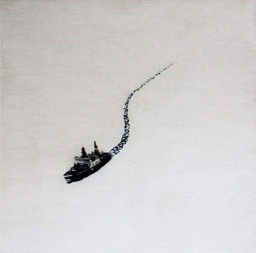 Slava PTRK - Gemälde - Hard Way