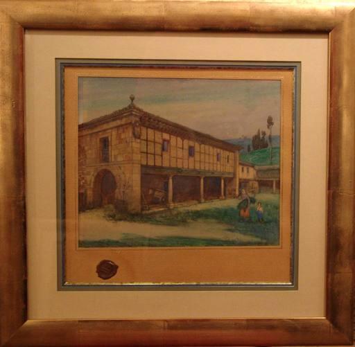 Aurelio ARTETA - Pintura - Casona montañesa