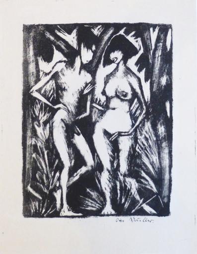 Otto MUELLER - Print-Multiple - Adam und Eva
