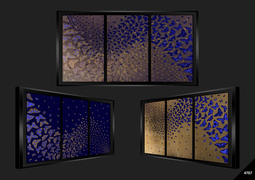 Patrick RUBINSTEIN - Painting - Envolée Nocturne