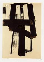 Pierre SOULAGES - Print-Multiple - Lithographie n°31