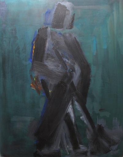 Manuel QUEJIDO - Pintura - El barrendero