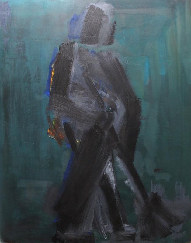 Manuel QUEJIDO - Gemälde - El barrendero