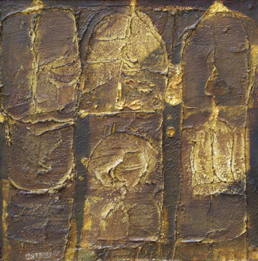 Trung NGUYEN - Pintura - Temple