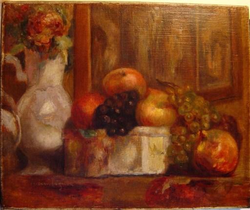 Lucien MIGNON - Peinture - Fleurs et fruits