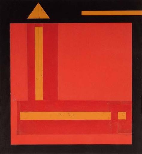 Mauro REGGIANI - Painting - Composizione C.70.15 - 1970
