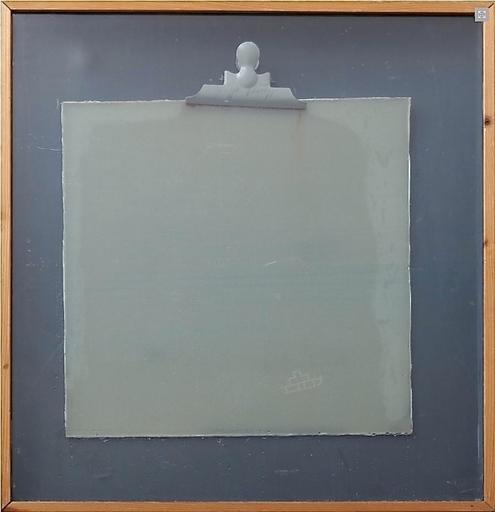 Joseph BEUYS - Pintura - Phosphor-Kreuzschlitten