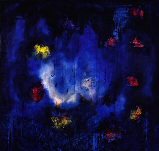 Theodora BERNARDINI - Painting - Suspension