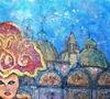 Valerio BETTA - Painting - Maschera a Venezia