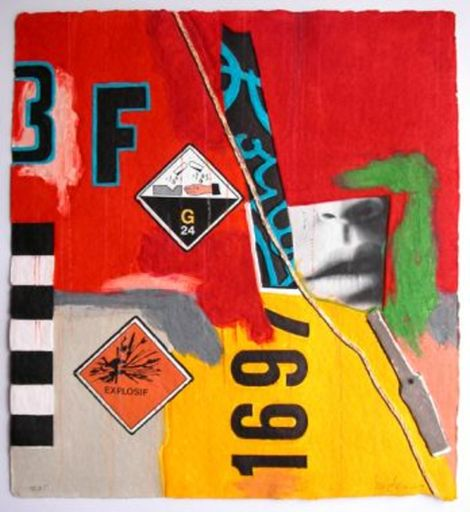 Peter KLASEN - Print-Multiple - Explosif