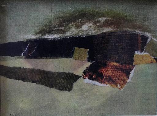 Jean-Louis BOUVOT - Painting - Composition