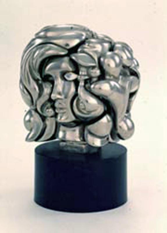 Miguel BERROCAL - Sculpture-Volume - Mini-Portrait de Michelle