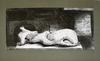 Henry MOORE - Druckgrafik-Multiple - Reclining Figure Architectural Background I