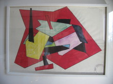 Atanasio SOLDATI - Pintura - senza titolo