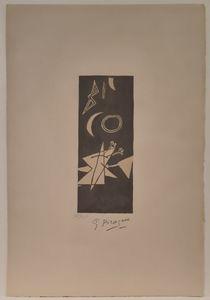 Georges BRAQUE - Print-Multiple - Ciel Gris II
