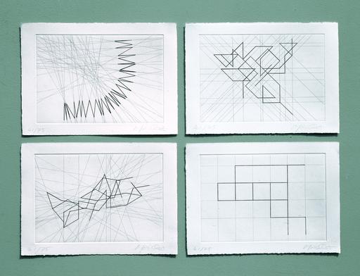 François MORELLET - Print-Multiple - π Piquant