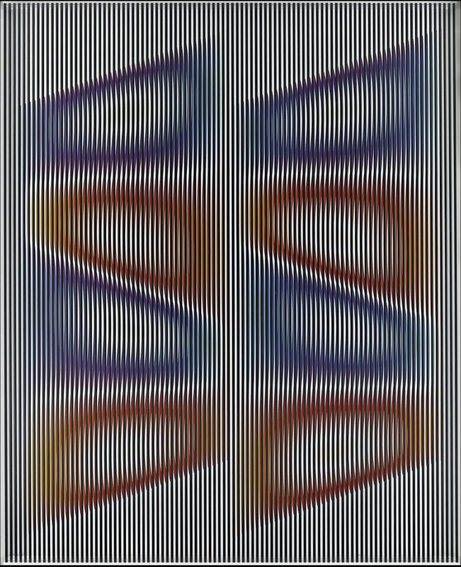 Alberto BIASI - Skulptur Volumen - Colori Cullati Dal vento Aquilone