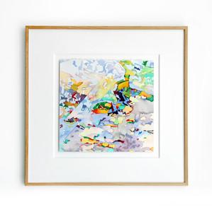 Jean-Paul AGOSTI - Drawing-Watercolor - Canopée-Miroir