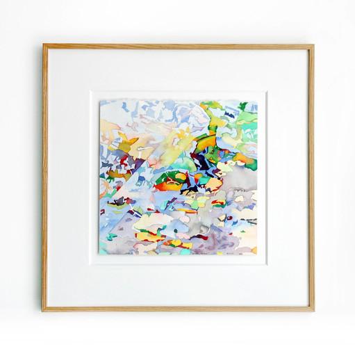 Jean-Paul AGOSTI - Zeichnung Aquarell - Canopée-Miroir
