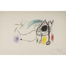"""胡安·米罗 - 版画 - """"SOBRETEIXIMS I ESCULTURES , 1972"""""""