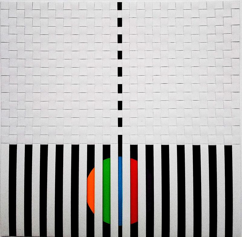 Angelo TOZZI - Painting - Senza titolo