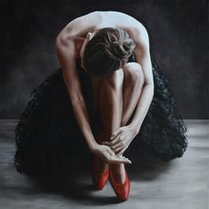 Annick BOUVATTIER - Pintura - Le repos du cygne