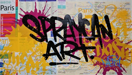 NASTY - Estampe-Multiple - Spraycan Art