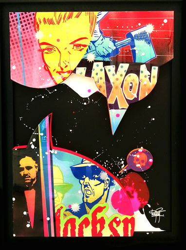 KEYMI - Gemälde - Cacophonie N°25