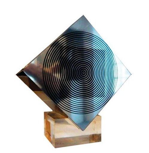 Victor VASARELY - Scultura Volume - Cube