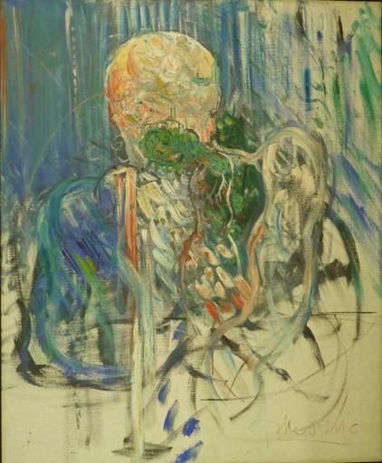 Uri LIFSHITZ - Painting - Two figures