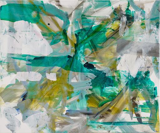 Ursula SCHREGEL - Peinture - Poésie verte