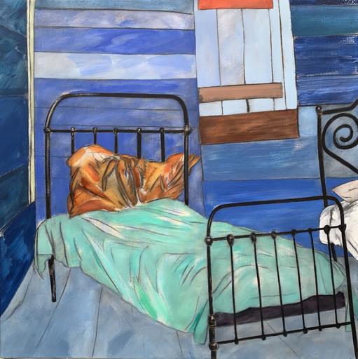 Ronald Brooks KITAJ - Painting - The third time (Savannah, Georgia)