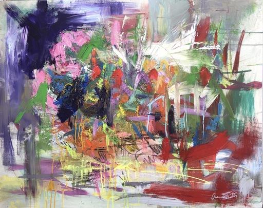 Nicole LEIDENFROST - Gemälde - Rote Punkte