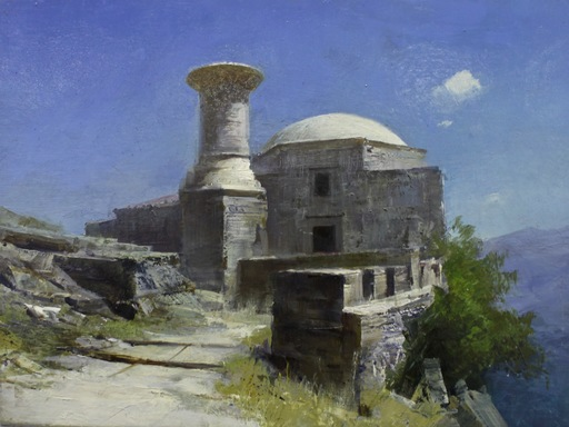 Alexey ALPATOV - Painting - Mosque
