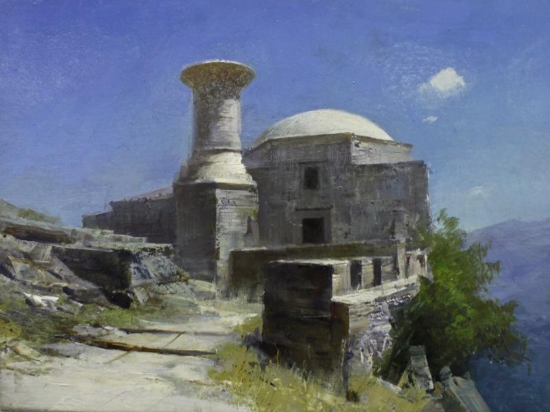 Alexey ALPATOV - Painting - Mosque
